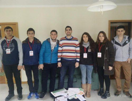 A Phosphorland recebe alunos de Erasmus+ da Turquia