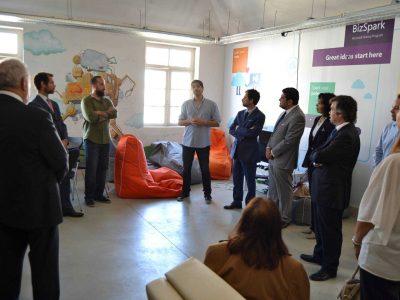 Visita da Comitiva de Embaixadores Ibero-Americanos