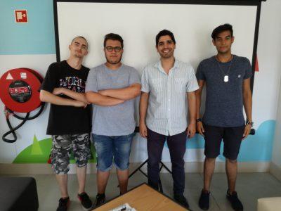 A Phosphorland recebe 3º grupo de alunos de Erasmus+ da Itália