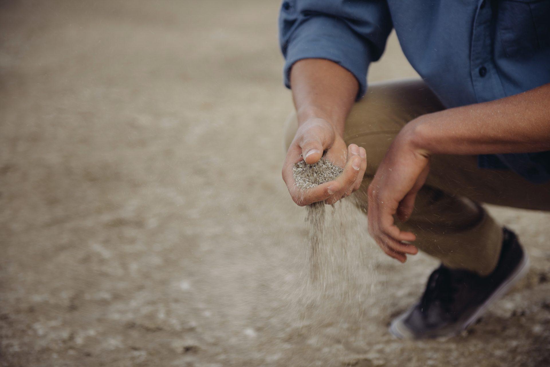 determinação tipo solo