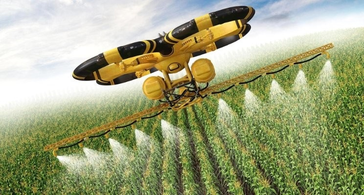 Agricultura Inteligente Precisão High-Tech